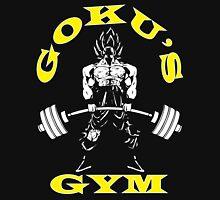 Goku's Gym (White and Yellow) Unisex T-Shirt