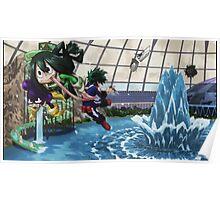 Tsuyu Asui Frog Girl Poster