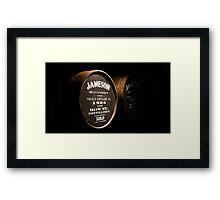 Ireland - Jameson Casks Framed Print