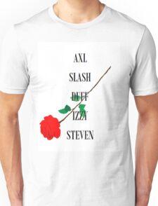 Guns n'Roses Rock Band Fan Art Unisex T-Shirt