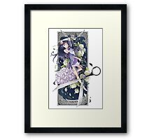 Our Lady of Cancer (Horoscope) Framed Print