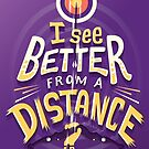 Better from a distance by Risa Rodil