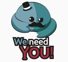 We need you! Kids Tee