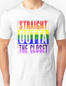 Straight Outta The Closet Unisex T-Shirt