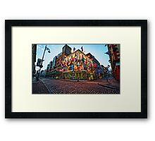 Ireland - Pub in Dublin Framed Print