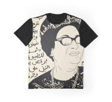 um kalthoum Graphic T-Shirt