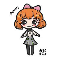 Penny Chibi Photographic Print