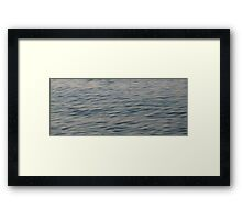 Chill waves Framed Print