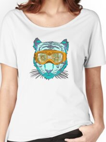 Looking Fierce on the Slopes Women's Relaxed Fit T-Shirt