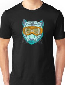 Looking Fierce on the Slopes Unisex T-Shirt