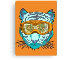 Looking Fierce on the Slopes Canvas Print
