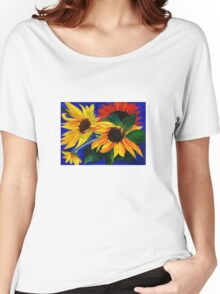 Sunflower Sisters Women's Relaxed Fit T-Shirt