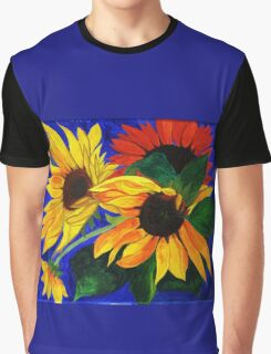 Sunflower Sisters Graphic T-Shirt