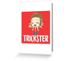 Trickster Greeting Card