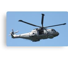 Royal Air Force Merlin Helicopter. Canvas Print