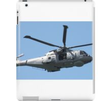 Royal Air Force Merlin Helicopter. iPad Case/Skin