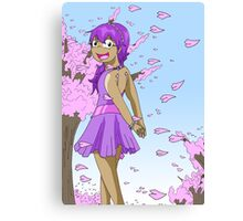 Raiden Legacy - Petal Girl (Chill) Canvas Print