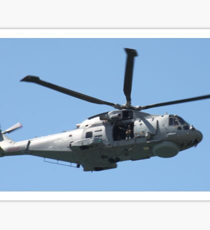 Royal Air Force Merlin Helicopter. Sticker
