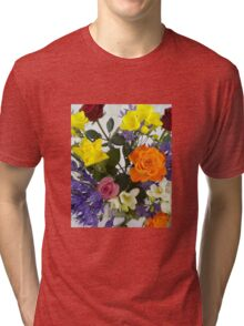 A Carnival of colours Tri-blend T-Shirt
