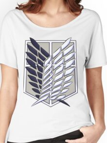 SNK/AOT wings of liberty Women's Relaxed Fit T-Shirt