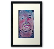 Portrait 2 Framed Print