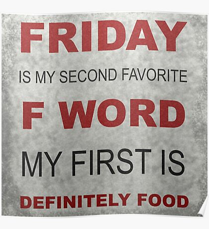F word Poster