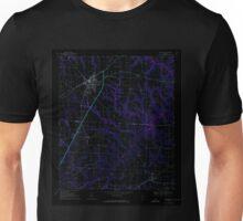 USGS TOPO Map Alabama AL Headland 304128 1969 24000 Inverted Unisex T-Shirt