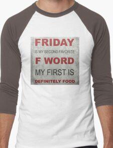 F word Men's Baseball ¾ T-Shirt