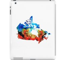 Canada - Canadian Map By Sharon Cummings iPad Case/Skin