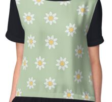 Cute Daisy T Shirt Chiffon Top