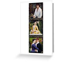 Outlander filmstrip frame Greeting Card