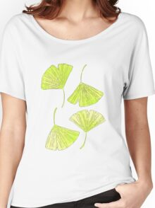 ginkgo leaf Women's Relaxed Fit T-Shirt