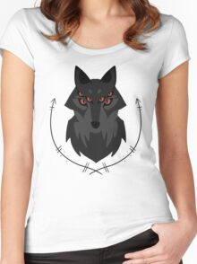 Dread Wolf Women's Fitted Scoop T-Shirt