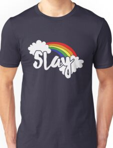 Slay retro rainbow Unisex T-Shirt