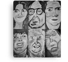 6 People Canvas Print