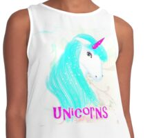 Pretty Mythical Unicorn Fantasy Graphic Contrast Tank