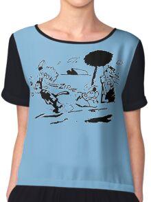 Pulp Fiction - Jules Winnfield Shirt Chiffon Top