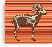 Arizona Desert Bighorn Sheep Canvas Print