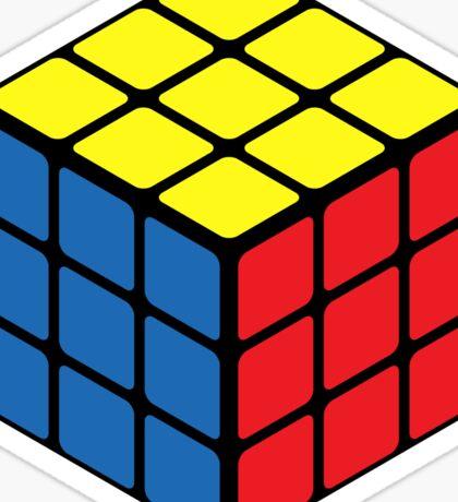Rubiks Cube Sticker