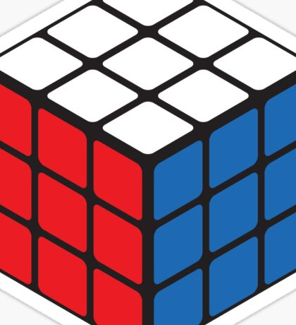 Rubiks Cube Sticker