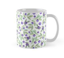 Watercolor bilberry pattern Mug
