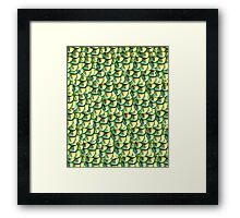 The feather or the scale Framed Print