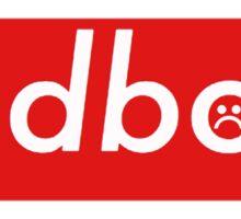 Sadboys Redbox  Sticker