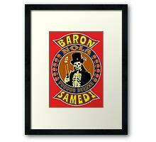 Baron Samedi Colour Framed Print