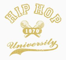 Hip Hop University One Piece - Short Sleeve