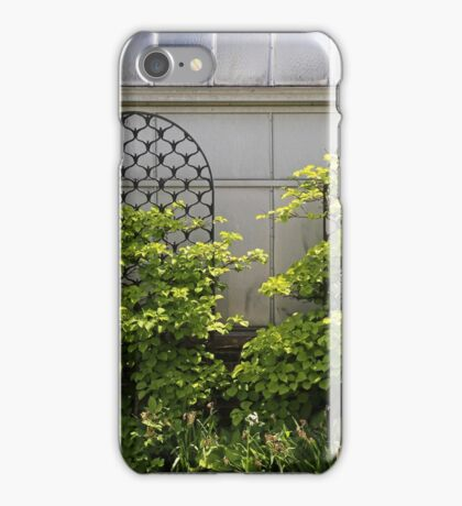 Belle Isle Consevatory trellis iPhone Case/Skin