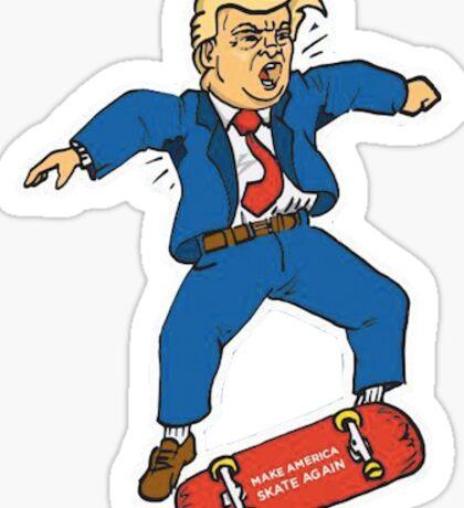 Make America Skate Again X Dump Trump Sticker