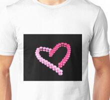 Pink Heart Unisex T-Shirt