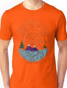 Einstein: Nature Unisex T-Shirt