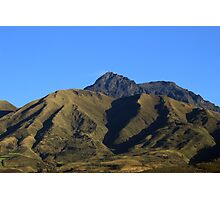 Mount Cotacachi and Blue Sky Photographic Print